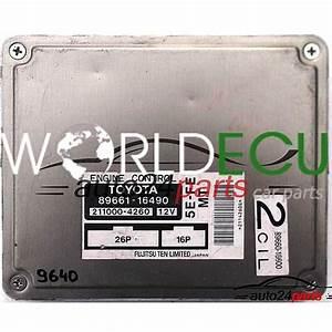 Ecu Engine Controller Toyota Paseo 1 5  89661
