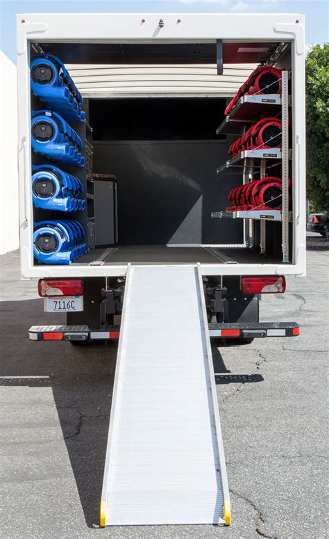 restoration truck trailer  air blowers air movers