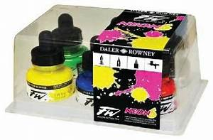 FW Acrylic Ink Neon Colours Set of 6