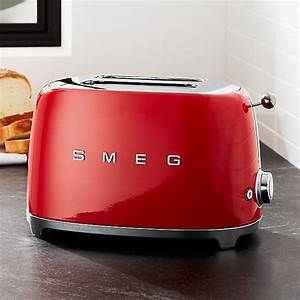 Toaster Retro Design : smeg red 2 slice retro toaster crate and barrel ~ Frokenaadalensverden.com Haus und Dekorationen