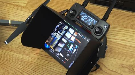 dji mavic pro pgytech ipad mini  ipad air  monitor hoods youtube