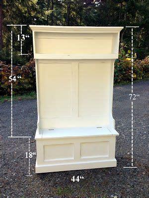 build   hall storage great diy instructions