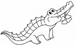 hd wallpapers alligator coloring pages to print