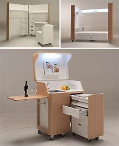 Rooms On Wheels Mobile Kitchen Bedroom Office Spaces Urbanist