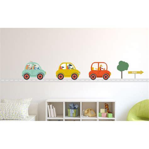 sticker chambre garcon sticker transport sticker voiture enfant