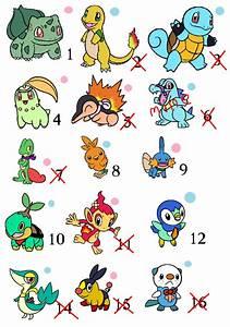 Pics For > All Pokemon Starters Shiny