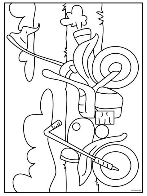 Kleurplaat Crossmotors by Kleurplaat Crossmotor Ktm