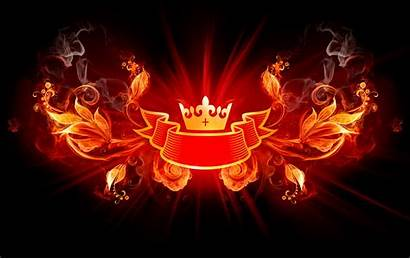 4k Wallpapers Ultra Abstract Crown Background Fire