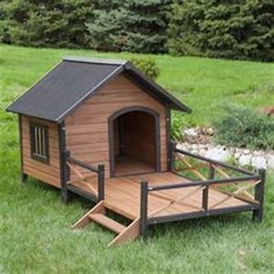 Cheap dog houses and online dog and pet supplies store for Large dog house with porch