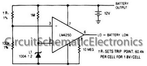 battery detector circuit power supply diy