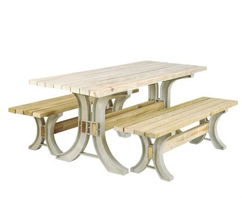 Picnic Table Bench Kit by 2x4basics 90182 Picnic Table Kit Sand Frame Outdoor Garden