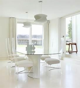 table salle a manger carree en verre images With salle a manger en verre