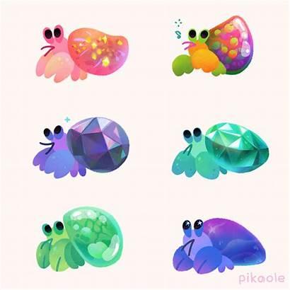 Jewel Behance Jade Turtle Shells Pack Emerald