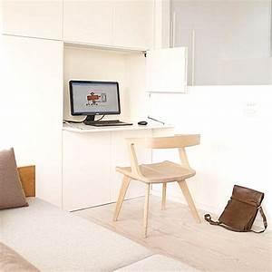Schreibtisch Im Wohnzimmer Integrieren : das kleine home office modern und gem tlich einrichten freshouse ~ Bigdaddyawards.com Haus und Dekorationen