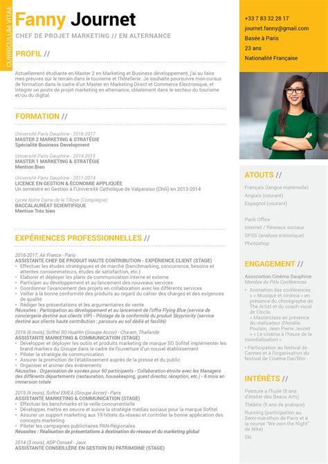 Cv étudiant by Cv Etudiant Dauphine