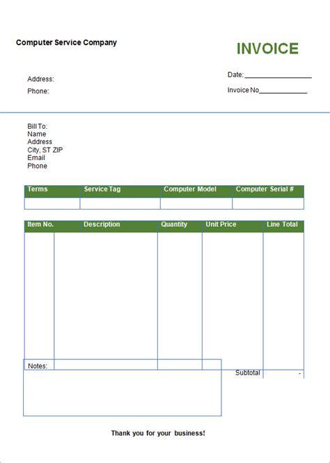 microsoft word invoice template  dascoopinfo
