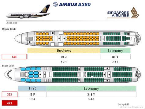 siege business air airbus a380 cabin configuration