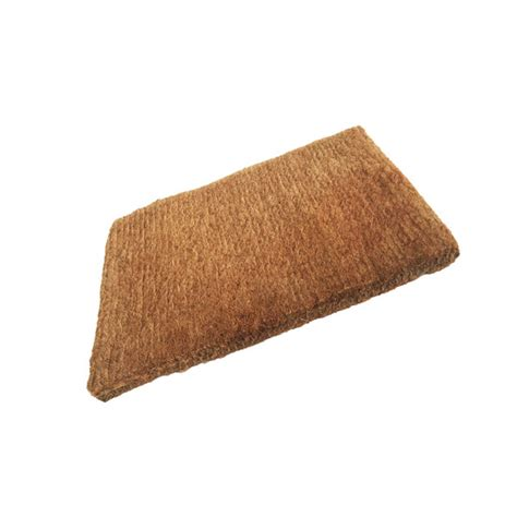 Plain Coir Doormat by Superior Plain Coir Stitched Edge Doormat 980mm X 600mm