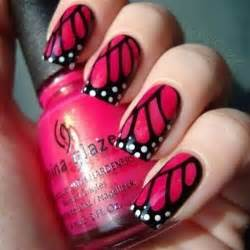 Simple nail art designs pink and black pink and black nail view images easy pink nail art designs prinsesfo Image collections