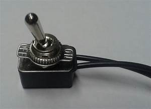 Toggle Switch Single Pole On