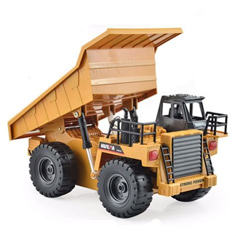huina toys  channel rc metal dump truck