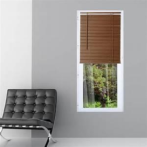Store Venitien Bois 45 Cm : store v nitien vinyle imitation bois ch ne fonc 60 cm de ~ Edinachiropracticcenter.com Idées de Décoration