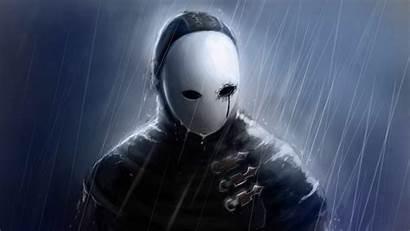 Sad Dark Mask Souls Darkness Computer Screenshot