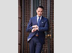 Royal Blue Suit Trend Spring Fashion He Spoke Style