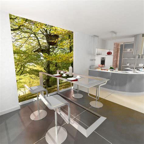 tapisserie de cuisine moderne papier peint cuisine leroy merlin à nantes devis de