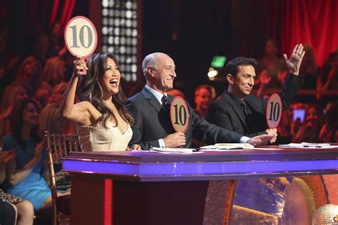 qa dwts judge carrie ann inaba thinks  winner