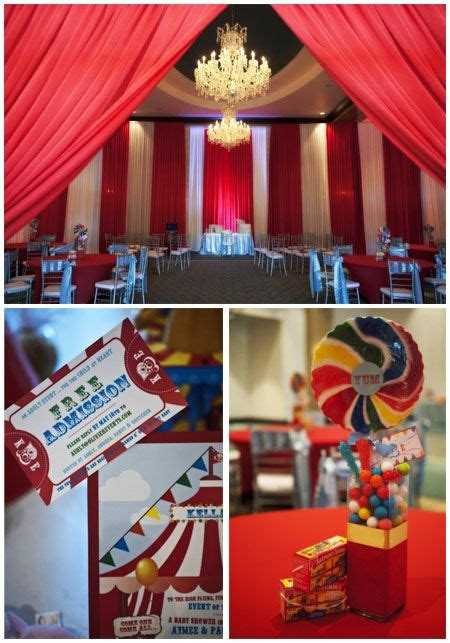 circus theme baby shower decorations     ring