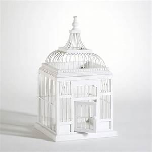 Cage Oiseau Deco : lyon deco location urne cage oiseau blanche pour tous vos v nements ~ Teatrodelosmanantiales.com Idées de Décoration