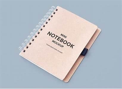 Mockup Notebook Psd Mockups Mini Clean Mock