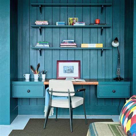 bureau bleu les couleurs qui favorisent la concentration et la