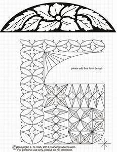 Free, Chip, Carving, Pattern