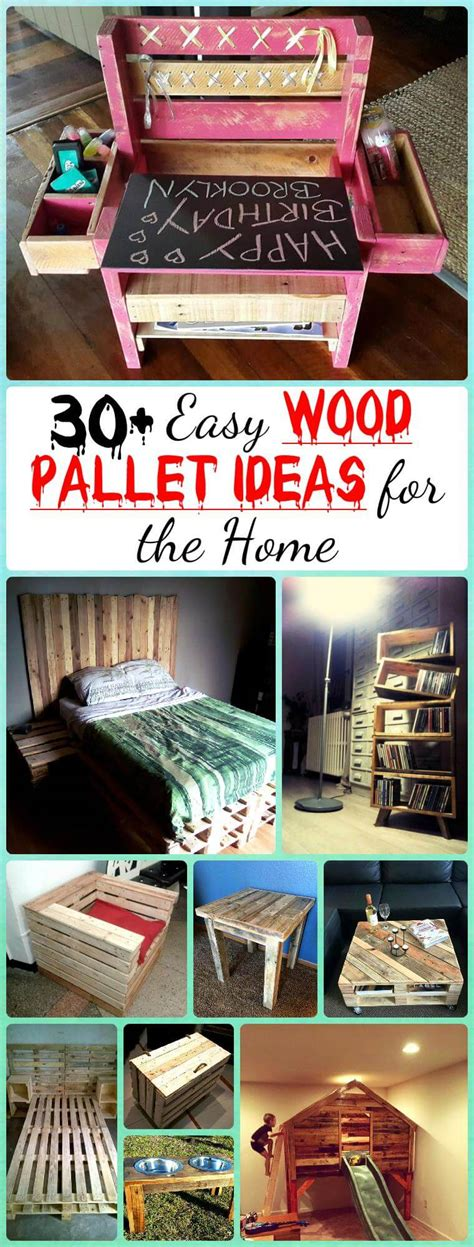 easy diy furniture ideas image 30 easy pallet ideas for the home pallet furniture diy