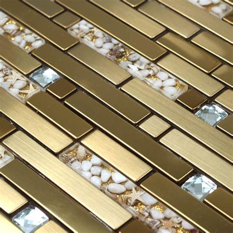 aliexpress buy golden metal mixed sea shell