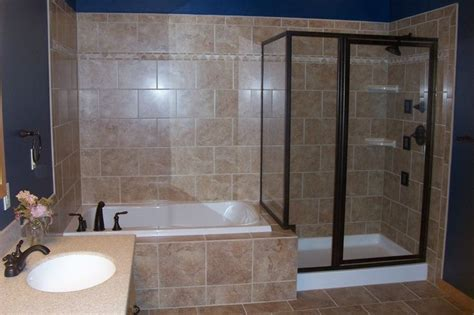 Whirlpool Bathtub Shower Combo by Jetted Tub Shower Combo Glass Shower Whirlpool Tub