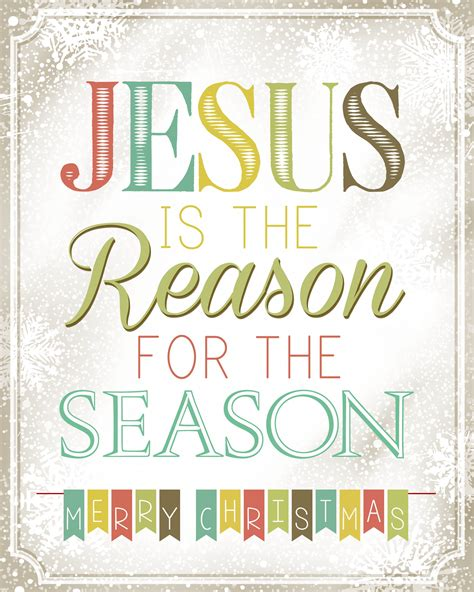 jesus is the reason for the season free printable how to nest for less