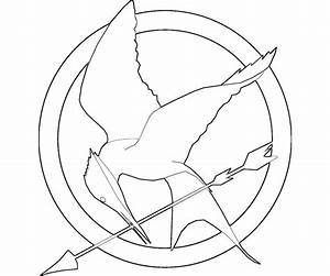Hunger Games Mockingjay Coloring Pages | www.imgkid.com ...