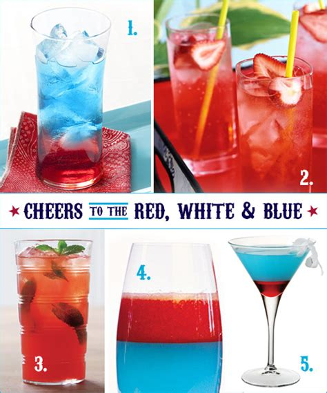 patriotic drinks cocktail time patriotic style thoughtfully simple