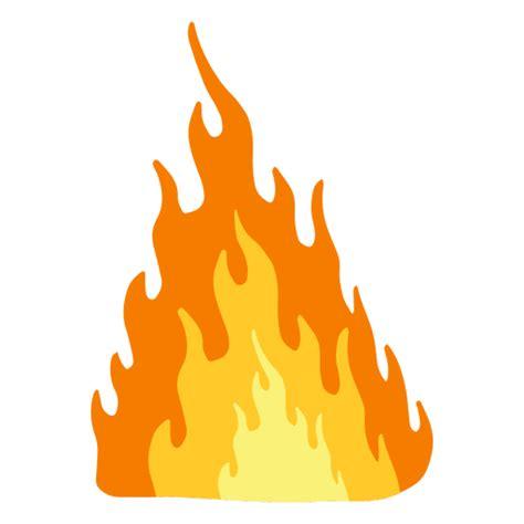 blazing fire cartoon transparent png svg vector