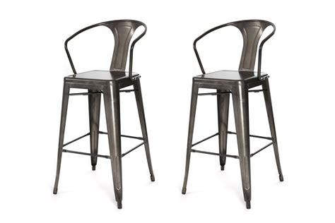 chaise métal industriel tabouret de bar pas cher advice avec tabouret style