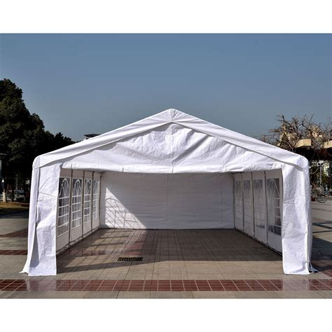 canopy tent for 32 x 16 heavy duty white tent canopy gazebo