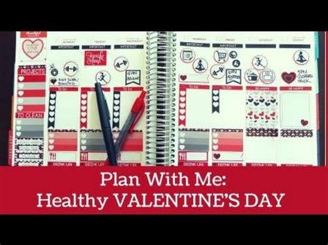 Cupid shoots his arrows and couples fall in love. Plan With Me | Healthy Valentine's Day and free printable ...