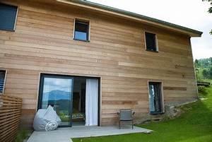 bardage bois exterieur tout pour bien choisir le type de With type d isolation maison 4 habitat performance construction maisons ossature bois