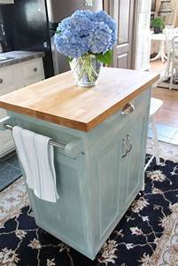 best 25 rental makeover ideas on pinterest rental With rolling kitchen island for small kitchen