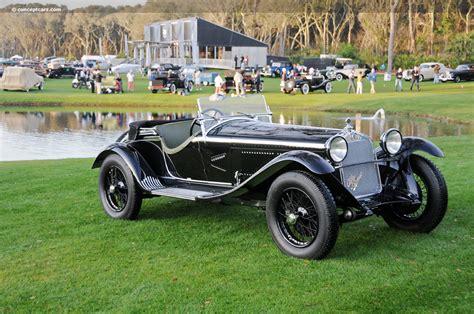 1931 Alfa Romeo 6c 1750 Image Chassis Number 10814356
