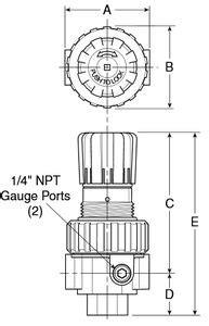 Compressed air filter-regulator - B11 series - Watts Fluid Air