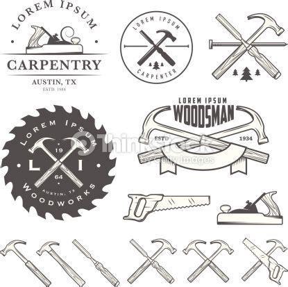 vintage tools logo hledat googlem carpentry tools